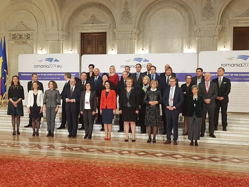 Risultati della riunione informale dei Ministri della Sanità dell'UE in Romania.